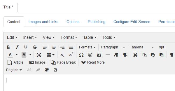 PramukhIME All languages visible in Joomla TinyMCE
