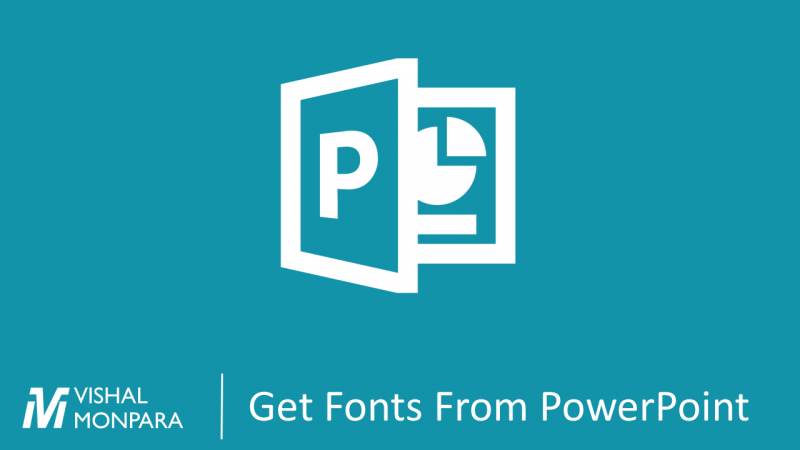 PowerPoint Get Fonts