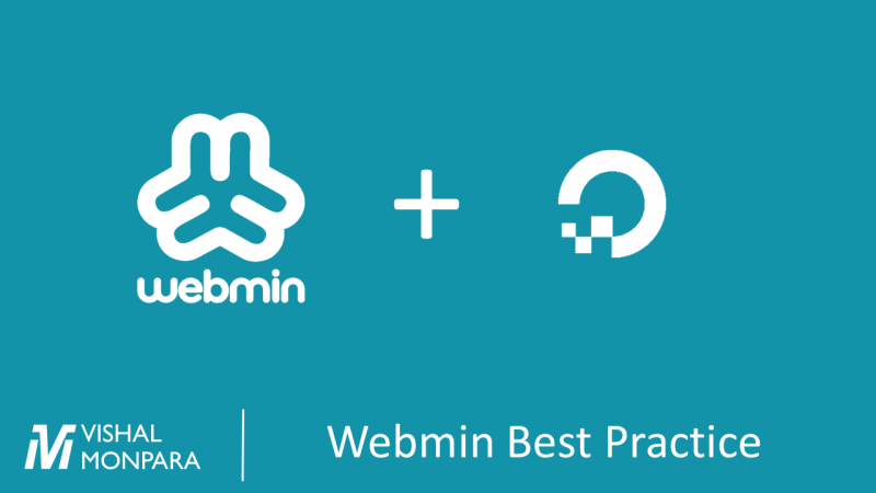Webmin best practice for hosting on Digital Ocean droplet