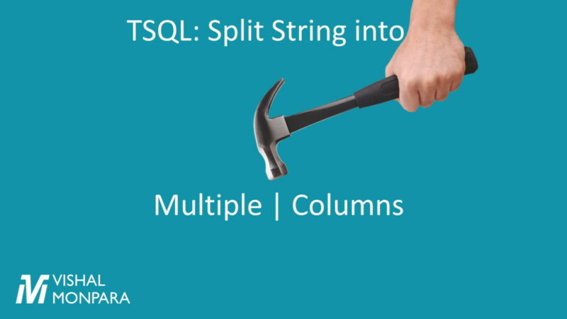 split string into multiple columns using hammer